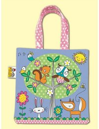 Image of Woodland Creatures Mini Tote Bag